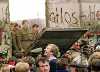 caída Muro de Berlín, cortesía