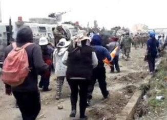 Bolivia, El Alto protestas