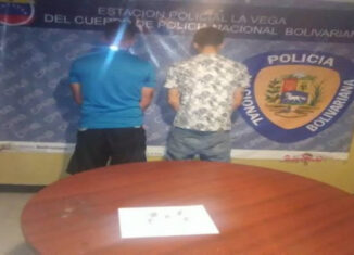 delincuentes La Vega, drogas