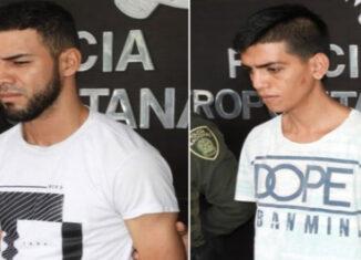 Vzlanos detenidos en Colombia