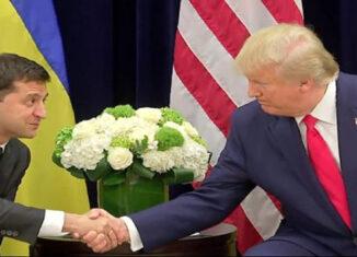 Trump y Zelenski