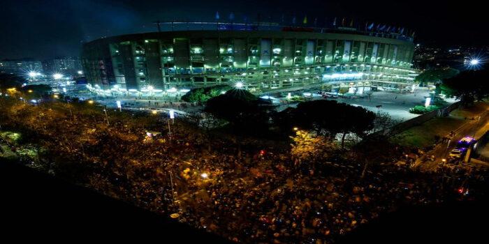 Independentistas- Camp Nou