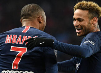 Neymar y mbappe