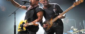 Sting y Bruce Springsteen