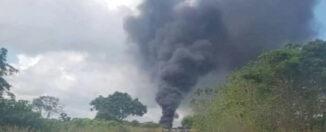 Explosión monagas gasolina